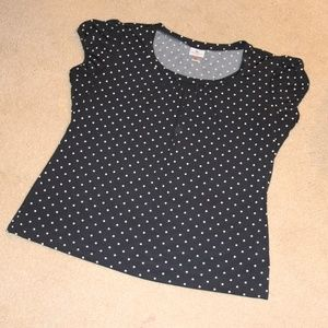 Black and White Women's Top